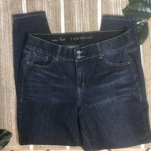Lane Bryant Skinny T tech skinny jeans Size 16